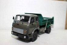 러시아어 모델, 1:43 합금 빈티지 트럭 MAZ Mas 수송 트럭 시뮬레이션 트럭 장난감, 클래식 컬렉션, 무료 shippi