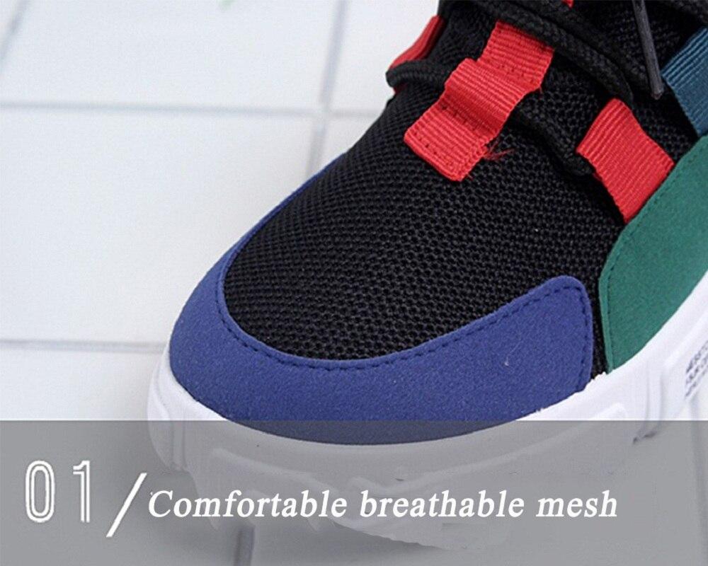 Zapatos De white Marca Transpirable Luz Casuales 34 Primavera And Otoño Zapatilla Black red Moda Jóvenes 40 Populares Pareja Blue Red Y Mujeres AnHw80H7q