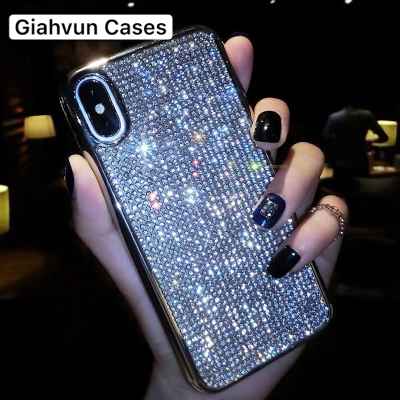 Luxury Bling Glitter Soft Tpu silver <font><b>Back</b></font> <font><b>cover</b></font> case For <font><b>OPPO</b></font> A5 <font><b>A57</b></font> A59 phone Cases image