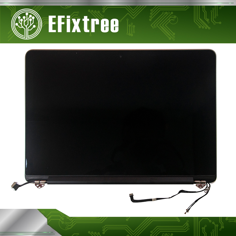 Efixtree 100% original A1502 LCD Assembly For Macbook Pro 13.3 LCD retina display screen assembly 2013 2014 2015 Year 3pcs lot new for macbook pro retina 13 a1502 2015 lcd led display screen lp133wq2 sja1 lsn133dl02 a02 2013 2014