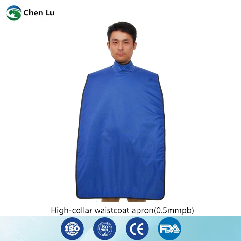 Oral clinic ionizing radiation protection high collar waistcoat apron gamma ray and x ray protective 0