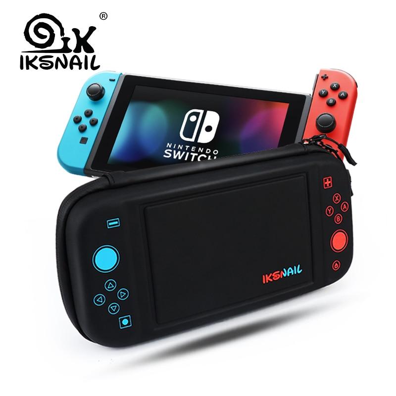 IKSNAIL Nintend Commutateur Sac Pour Playstation Console de Nintendo Bolso Cas Durable Nitendo Cas Pour NS Nintendo Commutateur Accessoires