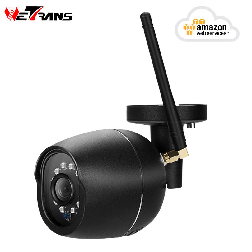 Wetrans Wifi IP Camera Outdoor Waterproof CCTV Home Security Wi-fi Wireless Camera Cloud HD 720P Audio Color Night Vision IP Cam wetrans wireless camera ip wi fi light bulb hd 3mp led security smart cctv camera panoramic wi fi alarm p2p audio night vision