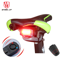 4 In 1 Anti Theft Wireless Remote Control Bike Lights Bicycle Taillights Bike Rear Bicycle Pattern