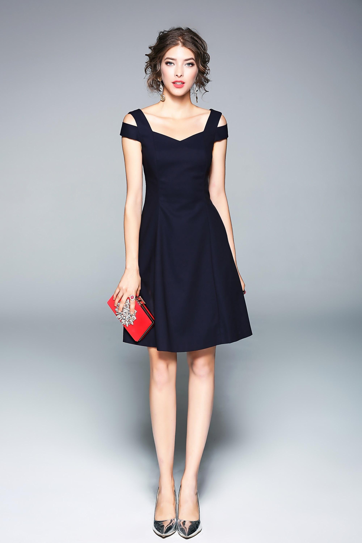 Charming All Black Party Dresses Ideas - Wedding Ideas - memiocall.com