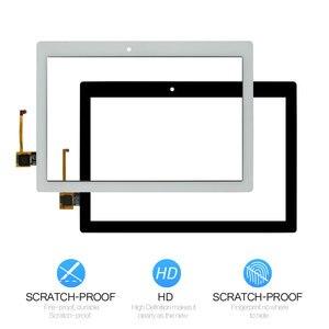 Для нового Lenovo Tab 2 A10-70 A10-70F Замена сенсорного экрана дигитайзер стекло 10,1-дюймовый черный белый
