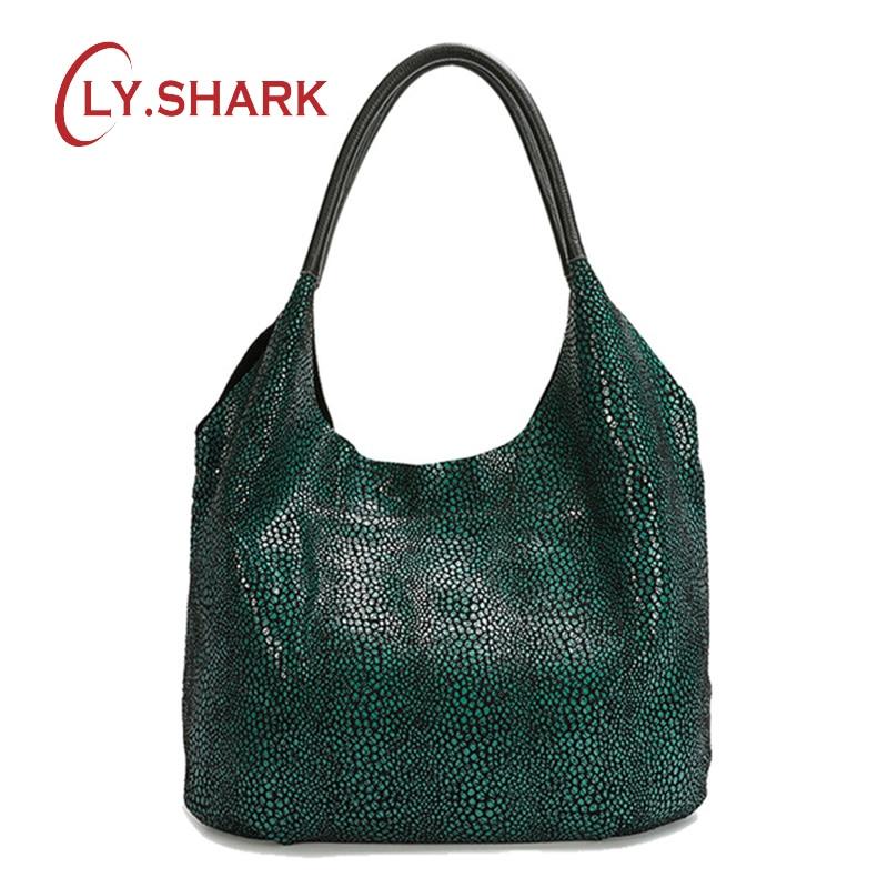 LY. SHARK 2019 moda señoras bolso de gran capacidad PU bolso de cuero señoras bolso de mensajero señoras moda bolso de hombro-in Cubos from Maletas y bolsas    1