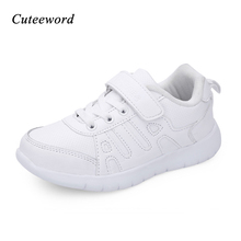 Fashion children shoes sneakers boys shoes school running shoe kids girls students white sport shoes leather mesh soft sneakers children shoes boys school sport shoes 2018 autumn boys girls casual running shoes breathable mesh soft kids students sneakers