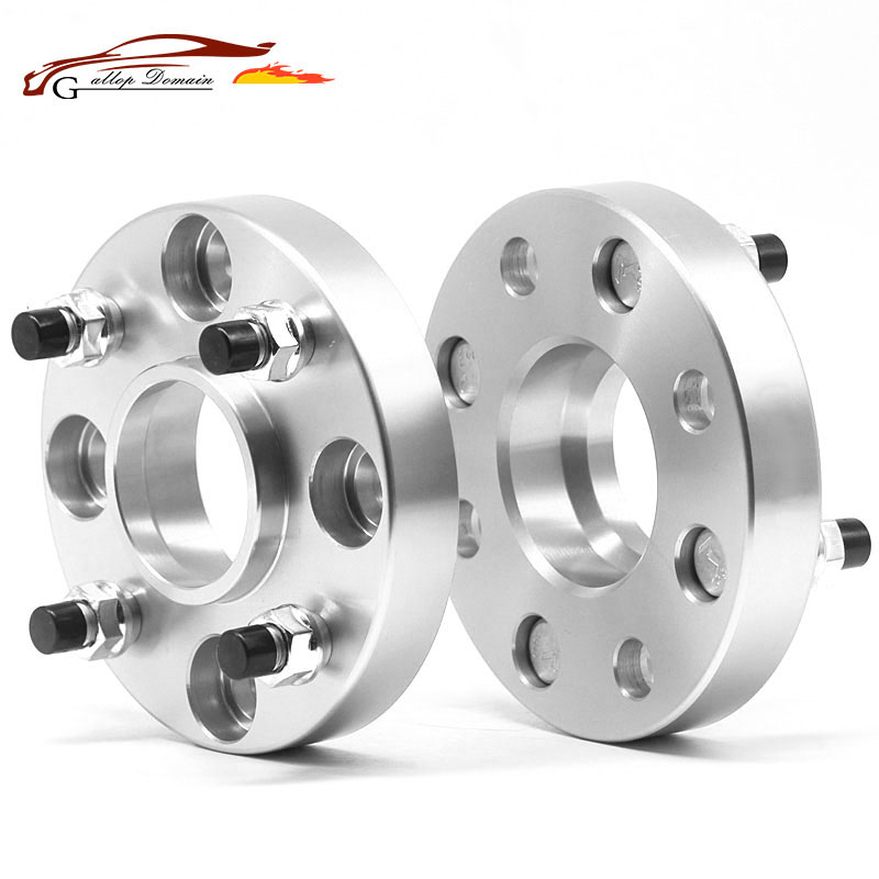 2PCS PCD 4X100 Center Bore 54.1mm Thick 30mm Wheel Spacer Wheel Spacer For Peugeot 107 wheel flange spacers M12XP1.5 Nut 1pc wheel spacers of lr discovery 3 discovery 4 aluminum alloy wheel adapter 5 holes pcd 120mm center bore 72 56mm