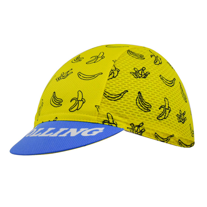 2018 NEW Men And Women Banana Pattern Yellow Cycling Caps / Scarfs / Headwear MTB / ROAD Bike Riding One-Size