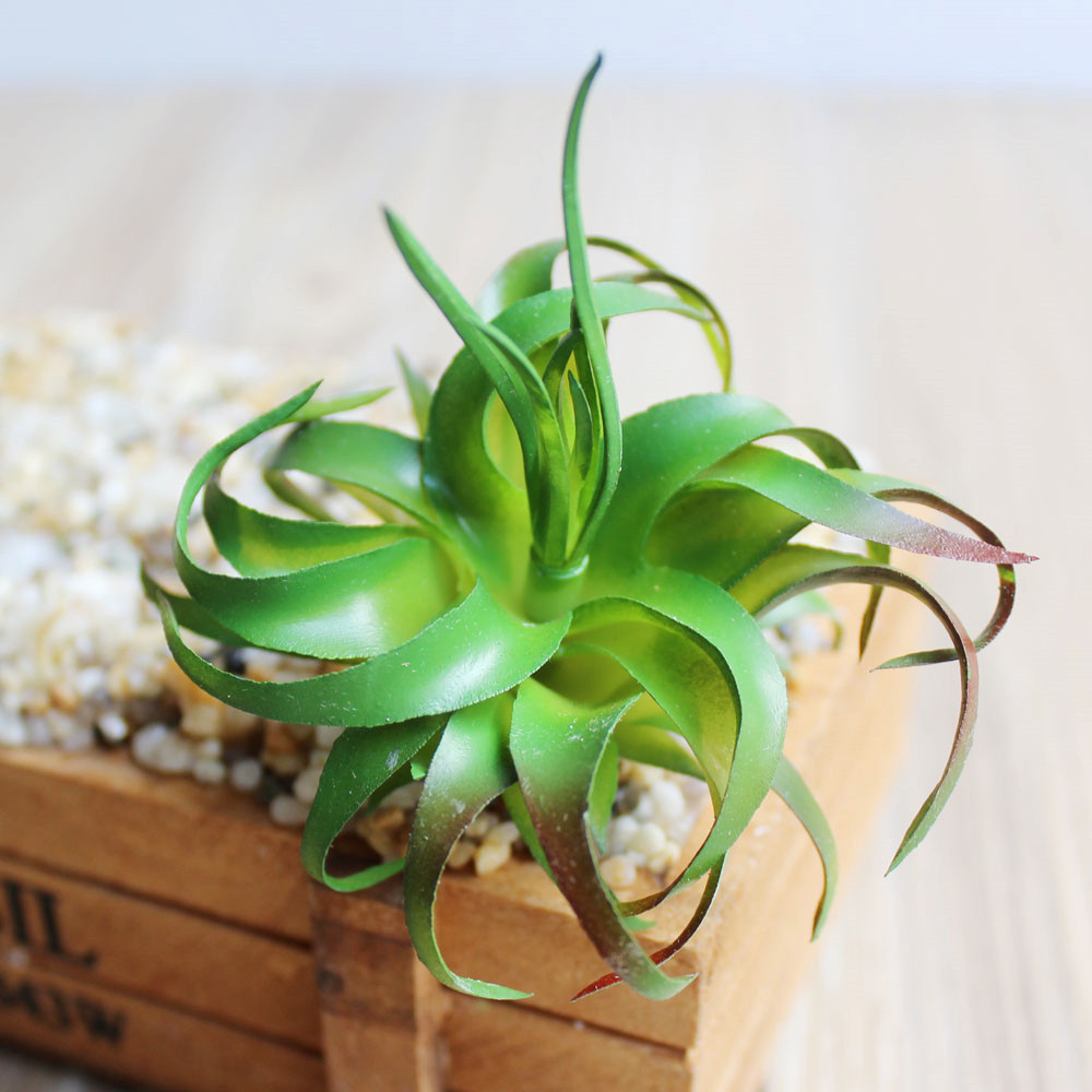 1pcs Whorlflower Artificial Succulents Plants Artificial Plant Landscape Fake Flower Ornament Home Office Garden Decoration