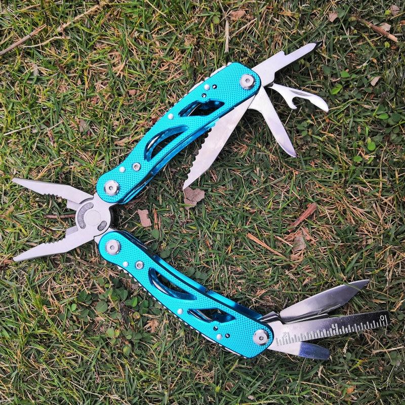 Zangen Daicamping Großhandel Multifunktionale Werkzeug Multi Zange Outdoor Camping Tragbare Alle-stahl Kombination Klapp Messer Zangen