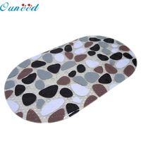 New Created Hotsale PVC Non Slip Shower Mat Bathroom Floor Mat With Suction Cups Safety Drop
