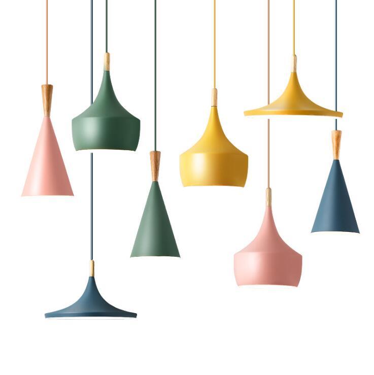 Instrumentos musicales lámpara colgante Beat luz luces colgantes sombra cobre, A + B + C (alto, gordo y ancho) AC90-240V