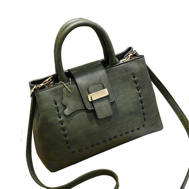 High Quality Pu Leather Handbag Women Bag 2017 New Fashion Tote Bag Designer Handbags Ladies Hand Bags Women Shoulder Bags