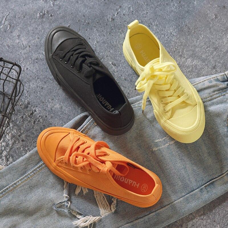 Kaufen Günstig Frauen Schuhe Herbst Candy Farbe Spitze Up