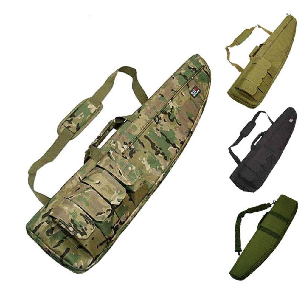 Heavy Duty Étui Pistolet Tactique sacs cabas Militaire petit sac d'épaule Pour Fusil de Chasse accessoires d'armes à feu