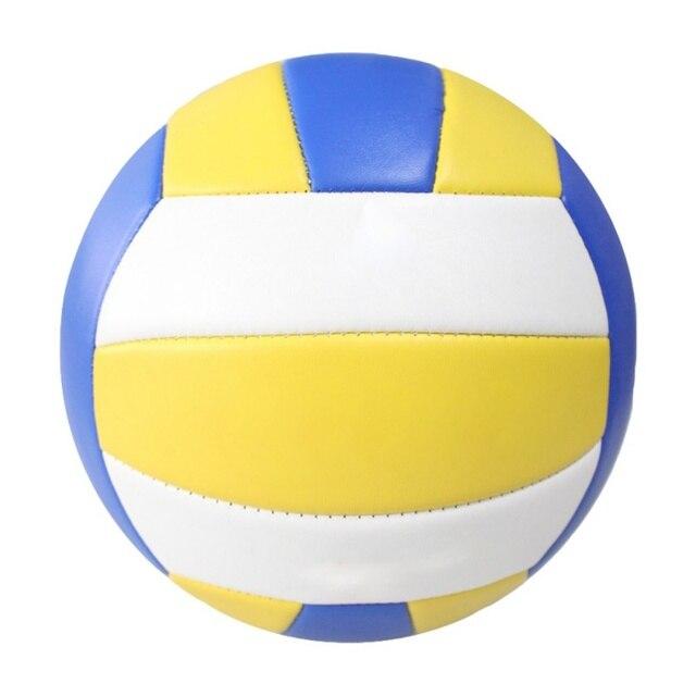 8b7d093678699 Jogo de Vôlei vôlei Bola Ao Ar Livre Indoor Formação Bola de Vôlei Soft  Touch Couro