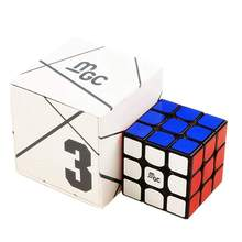 Cuberspeed yj mgc 3x3 m cubo de velocidade preto yj mgc magnético 3x3x3 cubo mágico quebra-cabeça