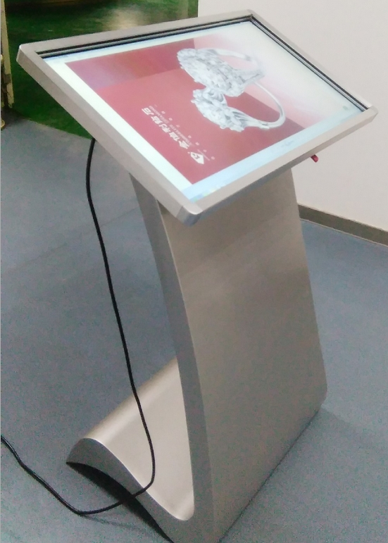 32/42/50 / 55 inch All In One PC Interactive lcd advertising display kiosk portable led lcd tft hd monitor