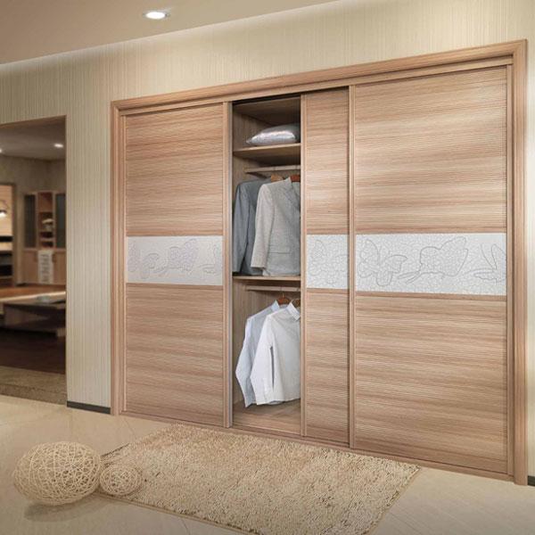 OPPEIN Modern Bedroom Wardrobe with 3 Sliding Doors whole ...