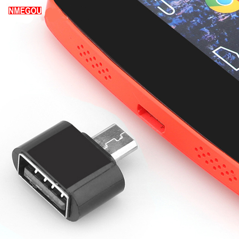 Mini Micro USB To USB OTG Adapter For Samsung HTC LG Sony Phone Tablet Pc Sd Tf Card Reader Microusb To Usbc Female Converter