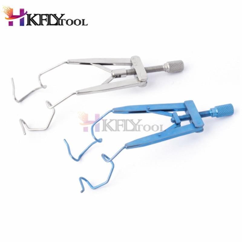 Инструмент для подделки микроскопические медицинские офтальмологические инструменты титановые носилки для век медицинская хирургическая открытая носилка для век уплотнение