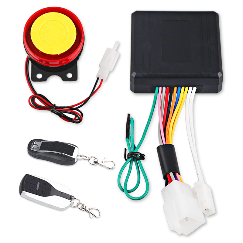 1set 12v Universal Motorcycle Anti Theft Security Alarm