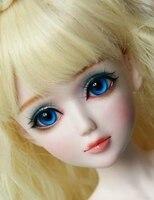 Полный комплект наивысшего качества 60 см ПВХ BJD 1/3 девочка кукла с ограниченной Золушка парик одежда все включено ночь Лолита Reborn кукла Лучш