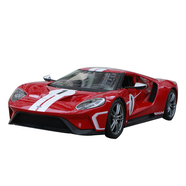Maisto   Ford Gt Red Racing Carcast Popular Motorcarcast Kids Gift