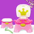 Hot Selling Children Baby Toilet Girls Boys Baby Urinal Toilet Children Traing Toilet Seat Baby Potty Stool Seat Gift Brush C01