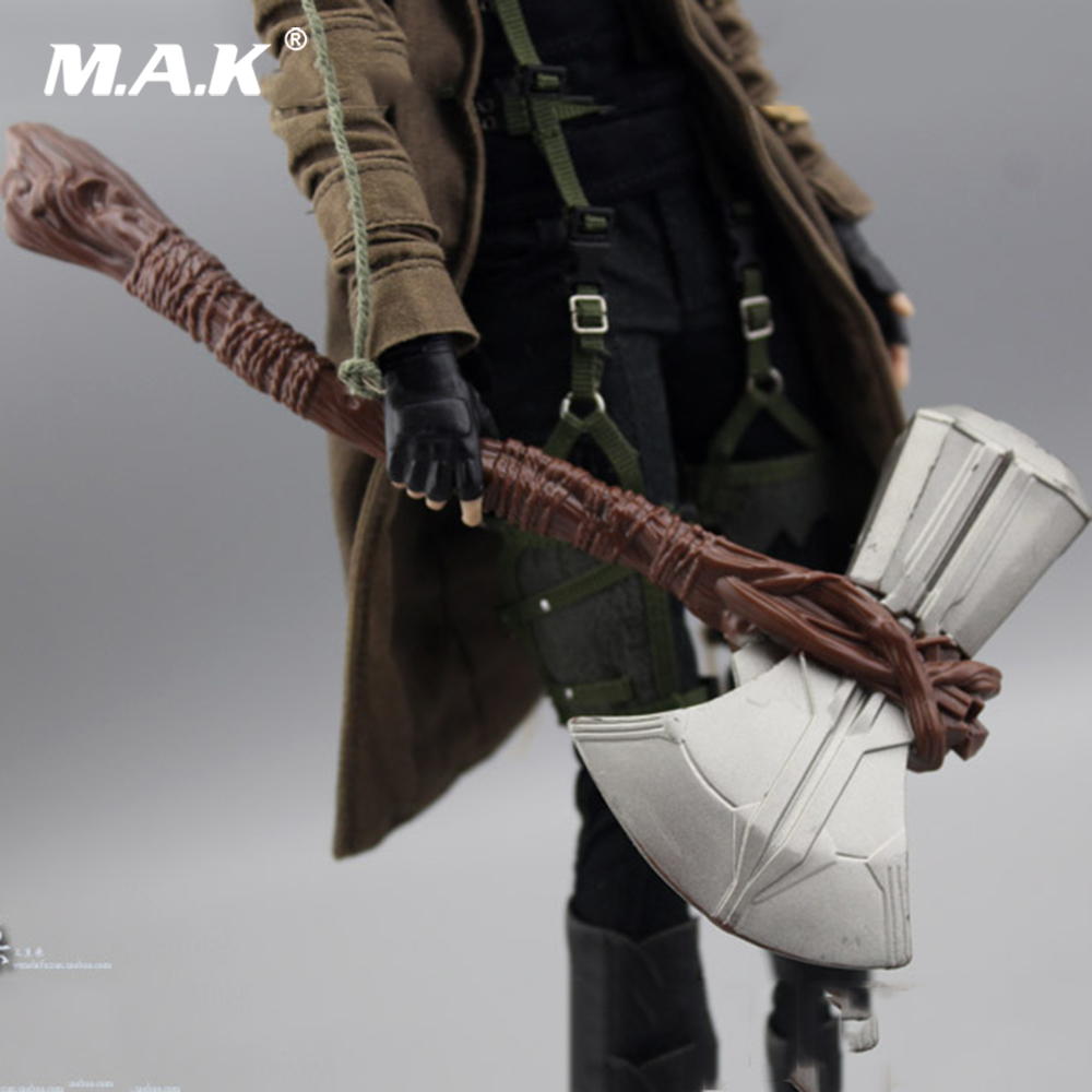 """1//6 Scale Thor hammer Weapon Props Model  Accessories Fit 12/"""" Action Figure Toys"""