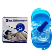 1 коробка анти мундштук против храпа устройства сна помощь для уменьшения храпа