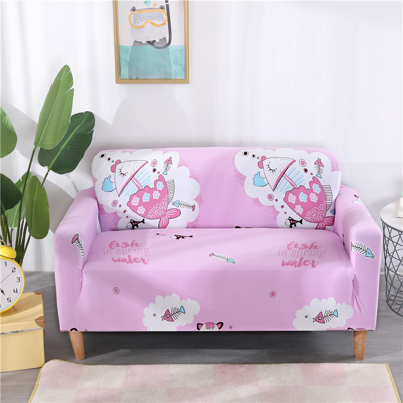 Universal Slipcovers Sectional Elastic Stretch sofa Cover For Living Room Furniture Couch Cover L Shape Single/Two/Three Seat