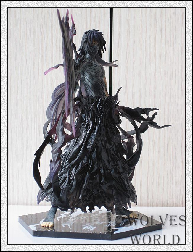 Free Shipping Japanese Anime Bleach Kurosaki Ichigo PVC Action Figure Cartoon Collection Model Toys 19cm KT3552 cool 20cm bleach anime kurosaki ichigo getsuga tenshou pvc action figure collection model toy