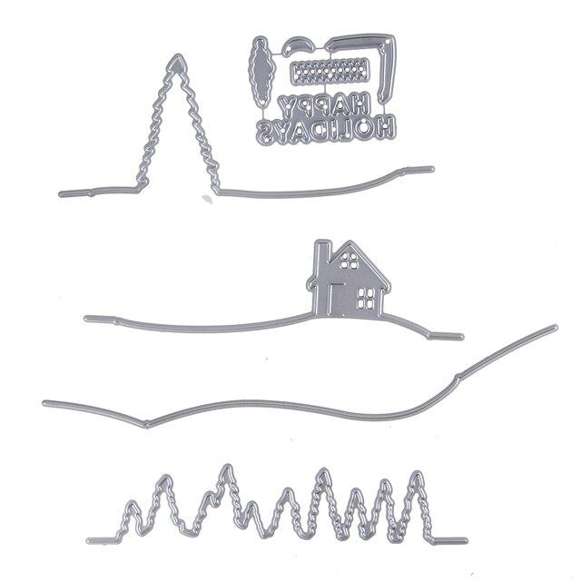 Diy Scrapbooking Album Papier Karte Dekorative Kundenspezifische