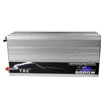 цена на 6000W Pure Sine Wave Inverter DC 12V To AC 220V 110V Solar Power Inverter Peak Power 12000W for Air-condition/Refrigerator/ Pump
