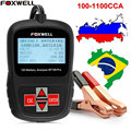 2017 Multi-Languages 12V Car Battery Tester Analyzer Foxwell BT100 Pro Automotive 12 Voltage Cranking Charging 100-1100 CCA