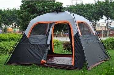 Stor plass 6 person ett rom øyeblikkelig oppsett høy kvalitet - Camping og fotturer - Bilde 1