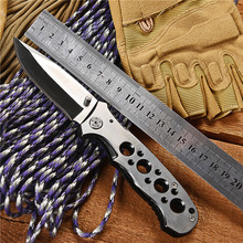 WTT Tactical Folding Knife Full Steel Utility Combat Survival Hunting EDC Knives Outdoor Camping Military Multi Tools 440 Blade wtt tactical folding hunting knife 5cr13 blade utility combat camping edc pocket knives for survival outdoor rescue multi tools