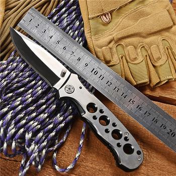 WTT nóż taktyczny składany ze stali nierdzewnej narzędzie walki Survival polowanie EDC noże na zewnątrz Camping wojskowy wielu narzędzi 440 ostrze tanie i dobre opinie WTT 083 073 111 F3 EVO F95 DA51 DA43 X50 FA18 Zebra Karambit Kwaiken Składany nóż STAINLESS STEEL Farby i dekorowanie