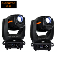 Big discount 2XLot 300W Led Spot Moving Head Stage Lighting Rotate Gobo with 16 Degree Angle High-powerful White 300 Watt White