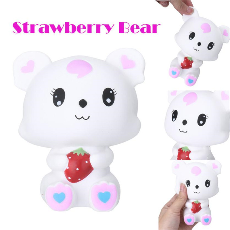Adorable Bear Cartoon Scented Slow Rising Collection Squeeze Stress Reliever Toy Girls kids gift Cute Gift Exquisite Fun #30