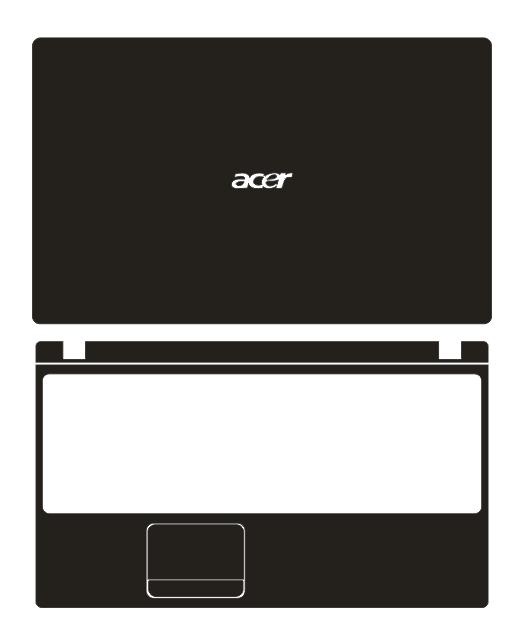 Especial portátil de fibra de carbono vinil adesivos de pele capa guarda para acer aspire 5742 5742g 5742z 5742zg 5552 5552g 15.6-inch