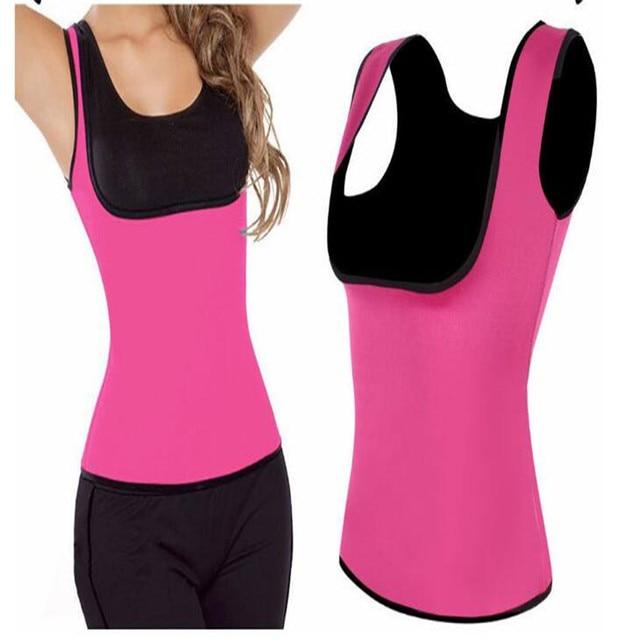 fd366c51f New Women Neoprene Shapewear Push Up Vest Waist Trainer Tummy Belly Girdle  Hot Body Shaper Waist Cincher Corset