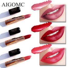 Matte Lipstick 6 Colors Long Lasting Waterproof Lips Makeup Easy to Wear Nude Cosmetic Wholesale Beauty Nutritious Makeup