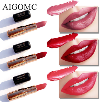 Matte Lipstick 6 Colors Long Lasting Waterproof Lips Makeup Easy to Wear Nude Cosmetic Wholesale Beauty Nutritious Makeup miss rose matte lipstick waterproof nutritious easy to wear lipstick long lasting lips makeup