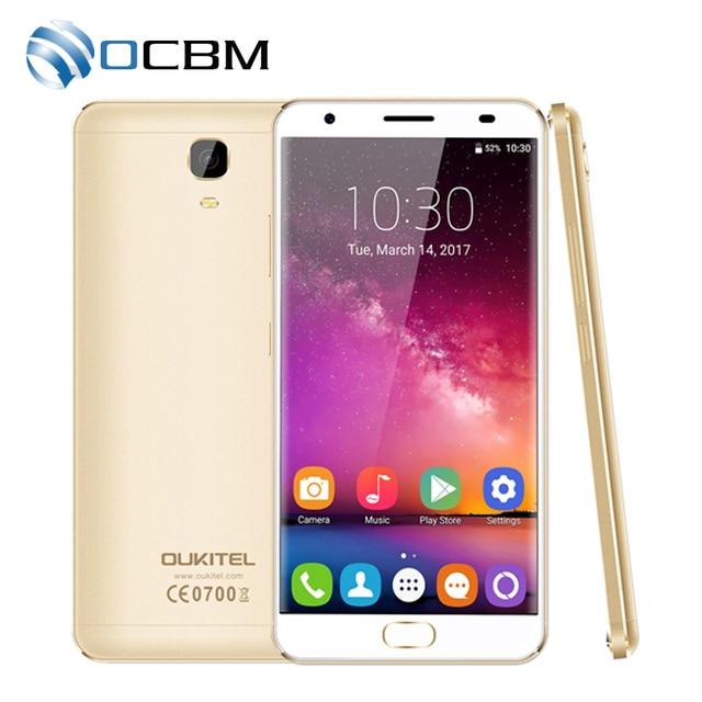 "Original Oukitel K6000 Plus 4G LTE Mobile Phone MTK6750T Octa Core 5.5""FHD 1920x1080 4GB RAM 64GB ROM 16.0MP Fingerprint"