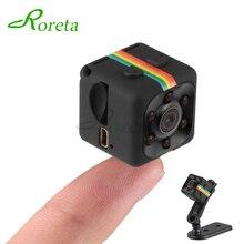 Roreta SQ11 מיני מצלמה HD 1080P קטן מצלמת חיישן ראיית לילה למצלמות DVR מיקרו מצלמה ספורט DV וידאו מצלמה sq 11