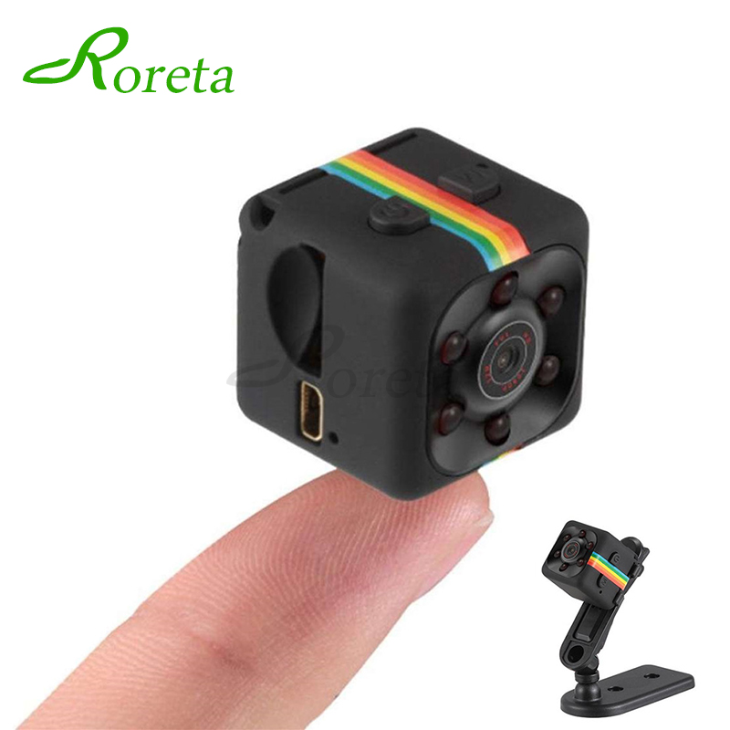 Roreta SQ11 Mini Camera HD 1080P Small Cam Sensor Night Vision Camcorder DVR Micro Camera Sport DV Video Camera Sq 11